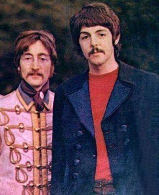 John & Paul the legendary song writing pair!
