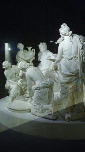 Apollon Servi Par Les Nymphes : apollon, servi, nymphes, Apollon, Servi, Nymphes, Sculpteurs,, Apollon,, Baroque