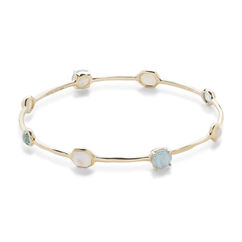 Ippolita rock candyureg bangle bracelet in k goldos color