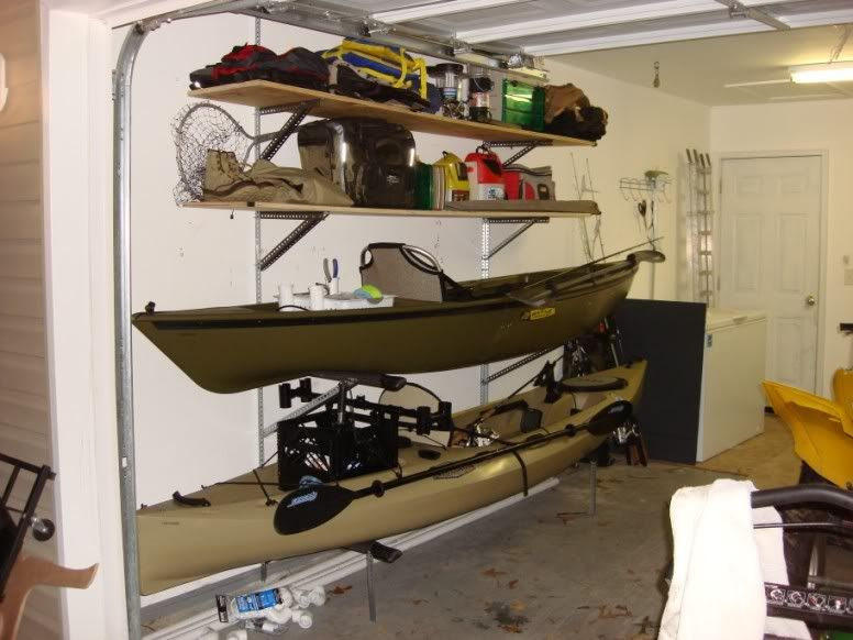 Exceptionnel DIY Kayak Rack And Storage