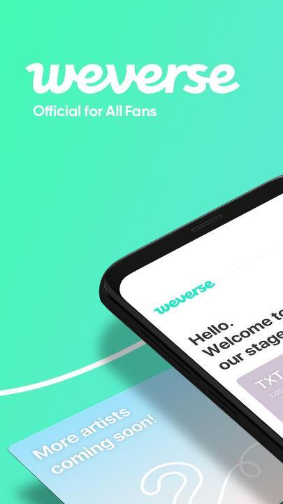 Скачать Weverse BTS на Андроид бесплатно Андроид