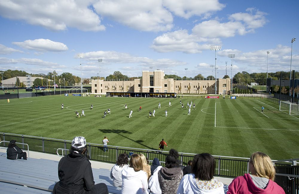 Notre Dame Soccer, Lacrosse, Football Practice, & Track Facilities | RATIO Architects