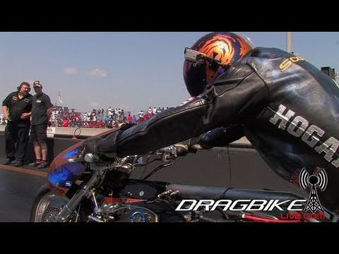 Top Fuel Nitro Dragbike Korry Hogan Goes 254mph In 1 4 Sets