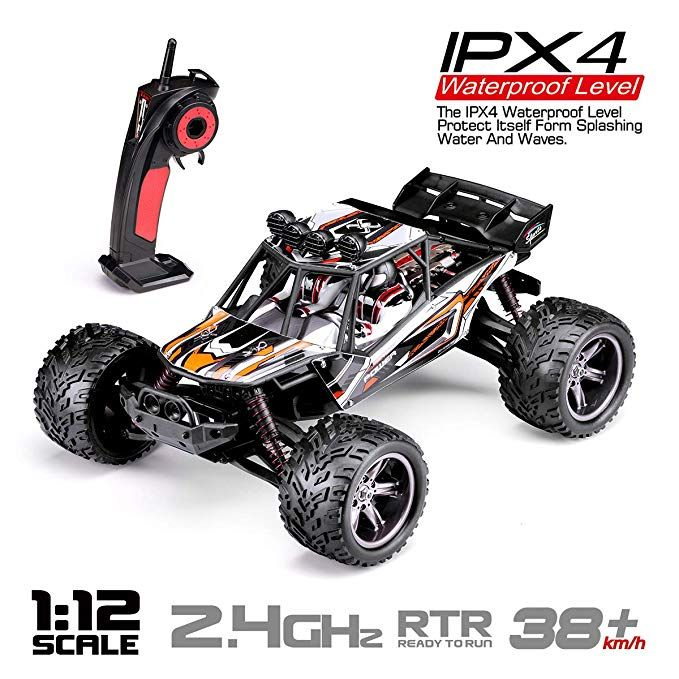 Hosim Rc Truck 9123 1 12 Scale Radio Controlled Electric Fast Racing Car High Sd 38km H Offroad 2 4ghz 2wd Monster Truggy