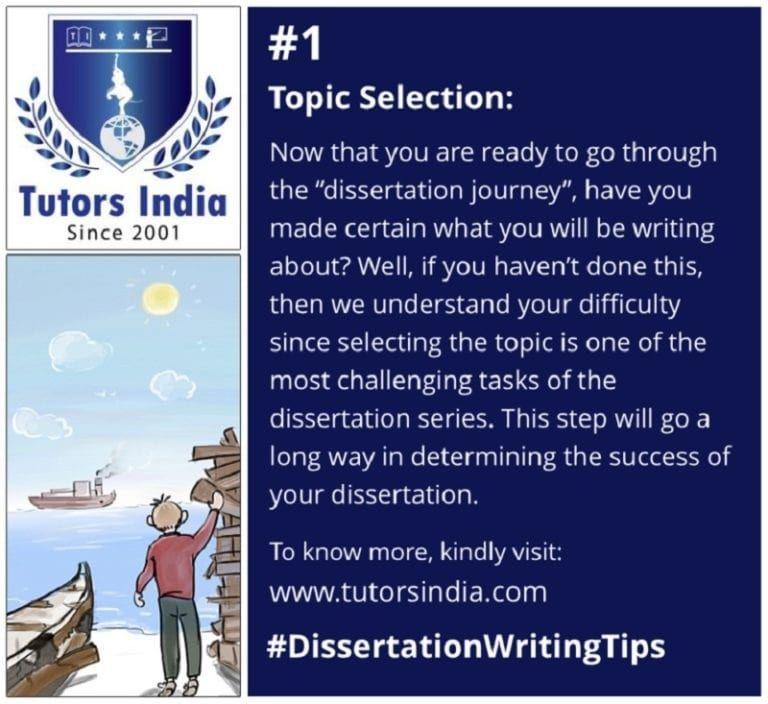 Six Invaluable Suggestion To Select The Dissertation Topic Tutorsindia Com Writing Service Topics How Choose A