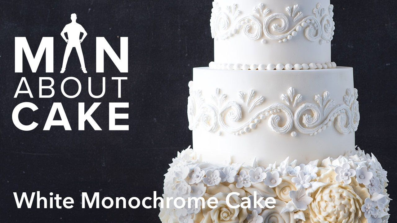 Man about white monochrome cake man about cake birthday and