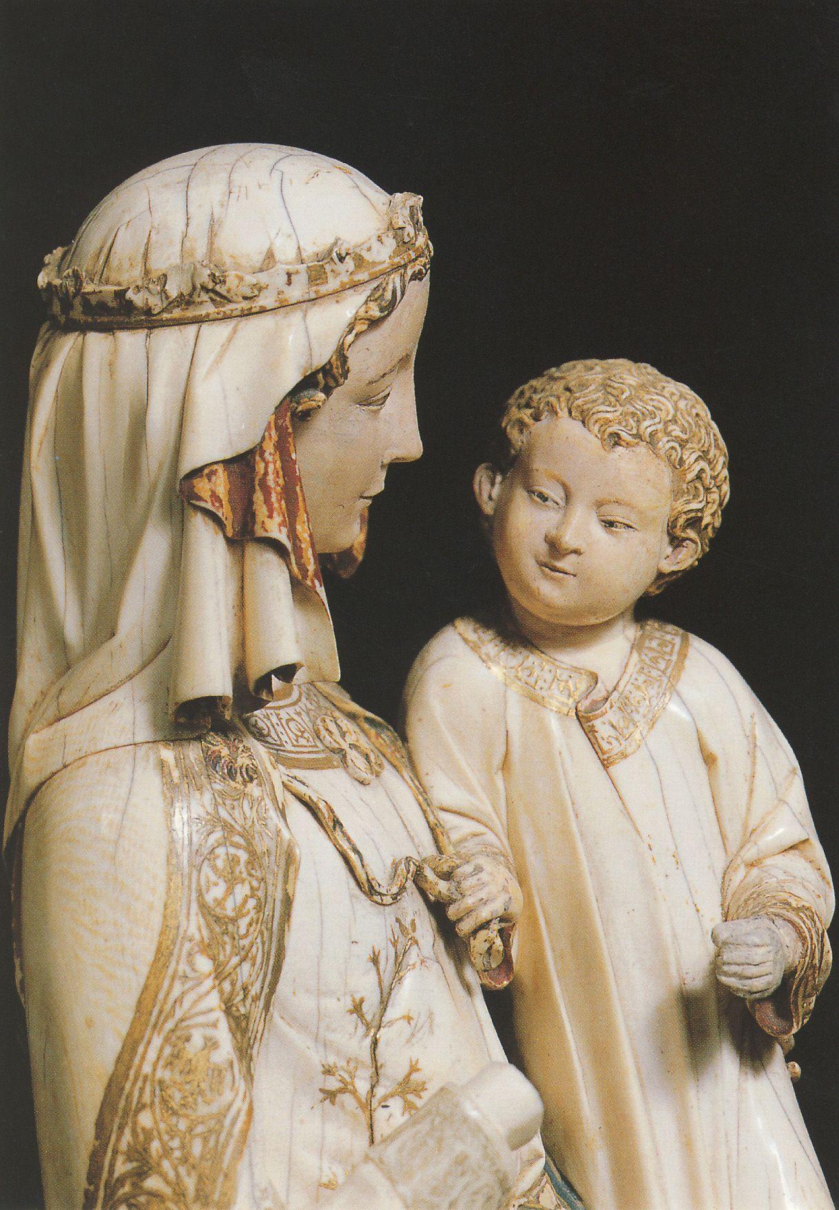 Vierge A L Enfant Villeneuve Lez Avignon I Saw This Vierge