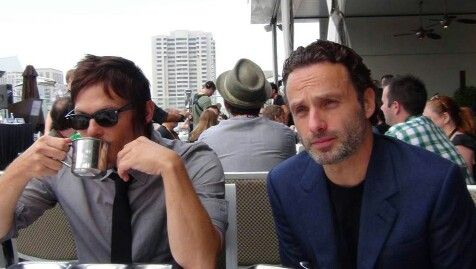 Norman and Andrew.