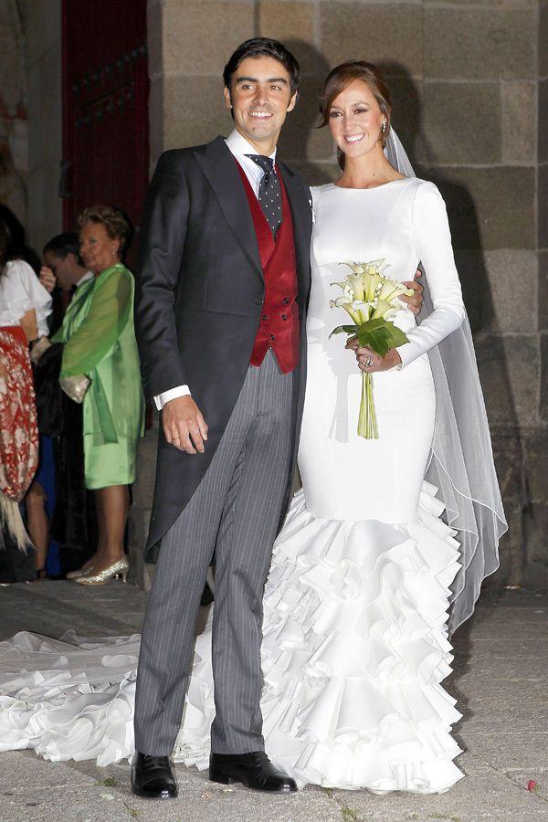la boda de miguel Ángel perera #boda #torero #vestidodenovia | bodas