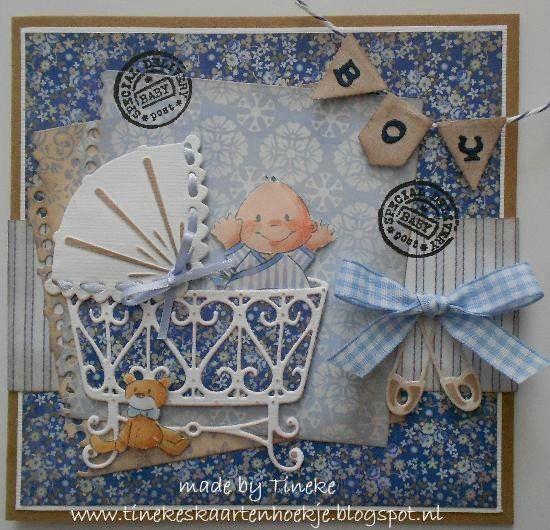 Babykaart jongen