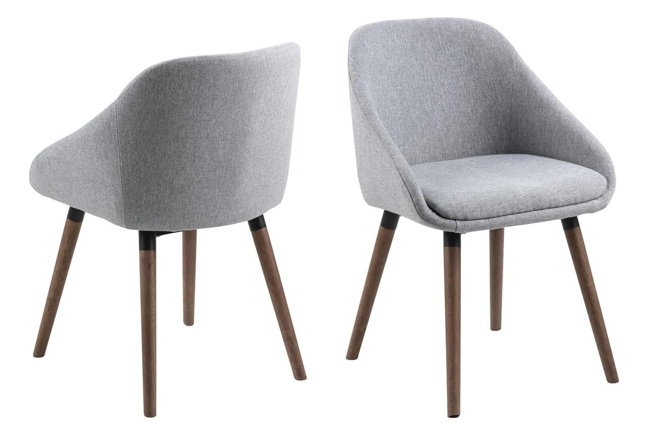 Krzeslo Nil Szare Nogi Orzech Dining Chairs Chair Furniture