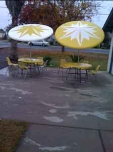 Could Fabric Paint A Plain Outdoor Umbrella Umbrella Pinterest