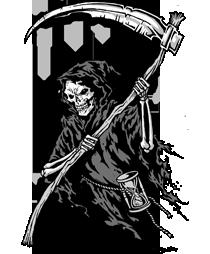 Top Grim Reapers Mc Images For Pinterest Tattoos Grim Reaper Reaper Image