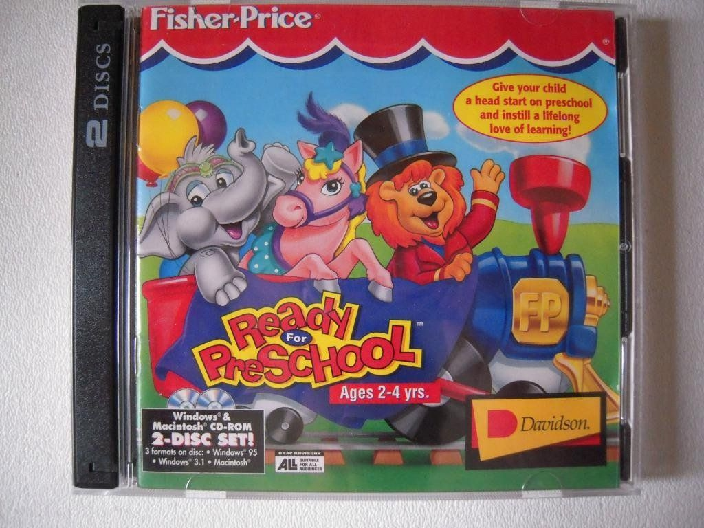 Quot Fisher Price Ready For School Preschool Edition Quot Cd Rom
