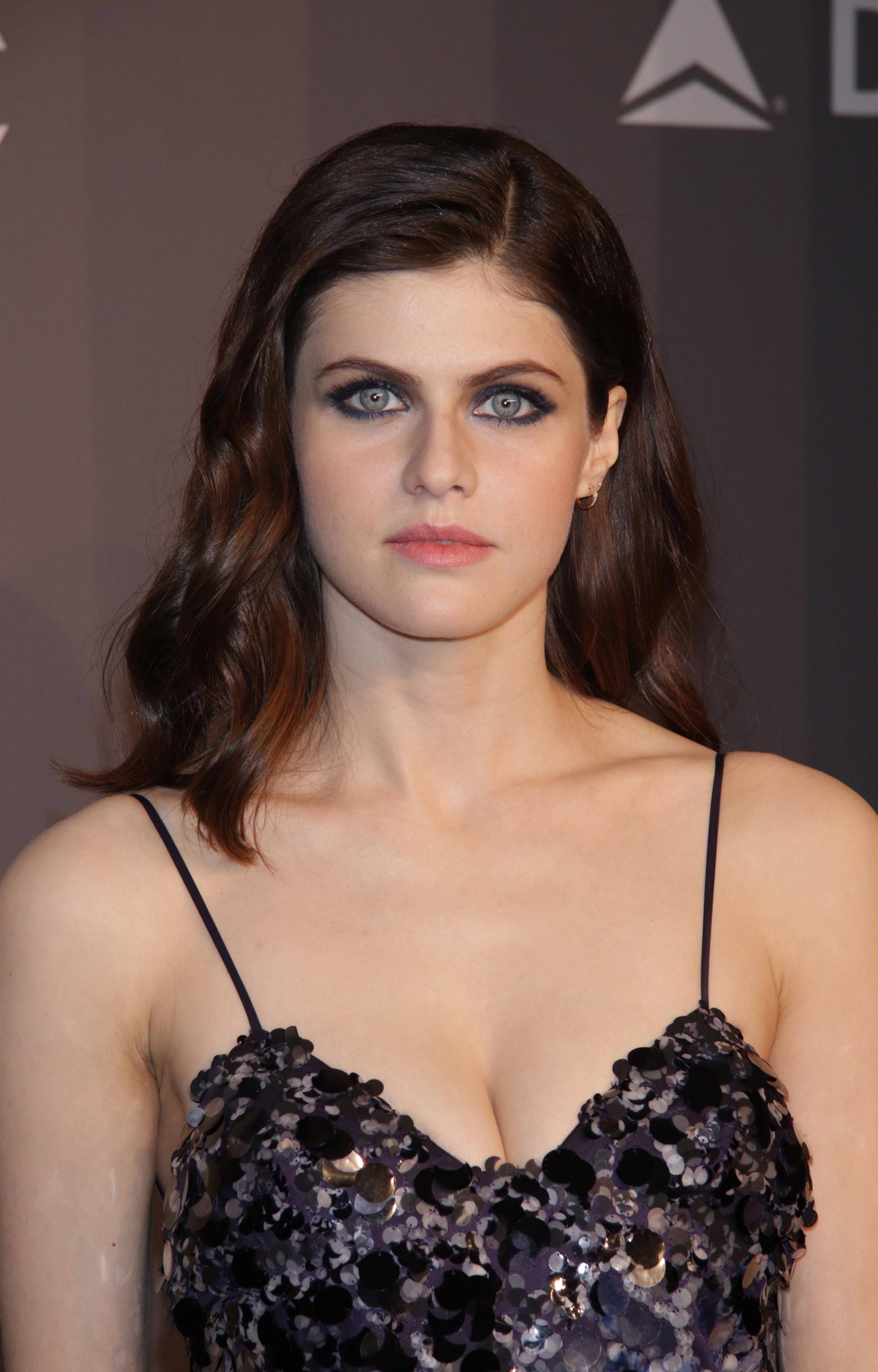Alexandra Daddario Your Breasts Are A Lot Bigger Here My Lover Im