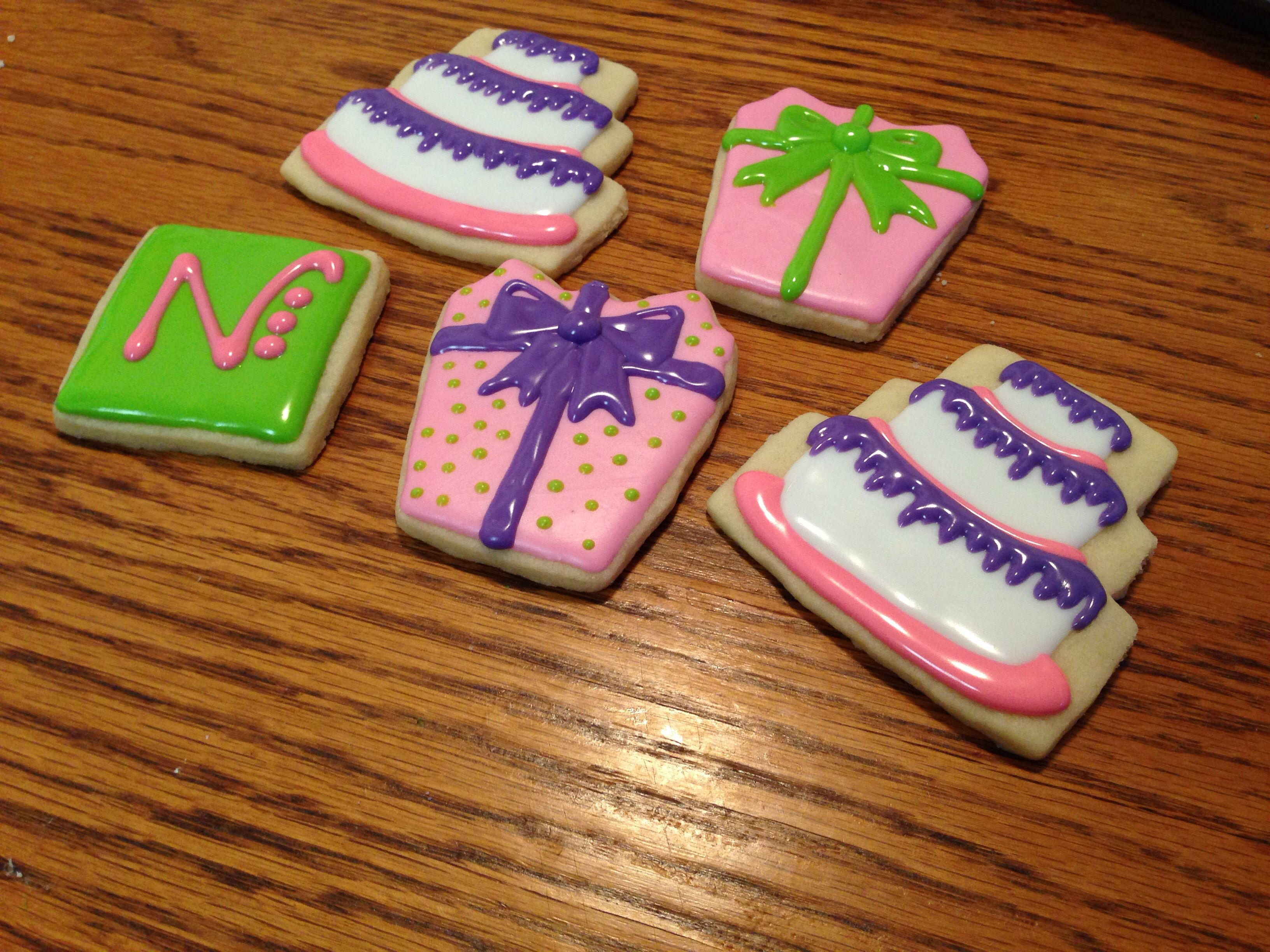 Birthday cookies   Courtney's Confections  