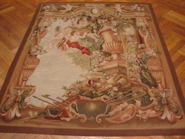 5' x 6' Handmade 17th Century Style Tapestry Wall Art