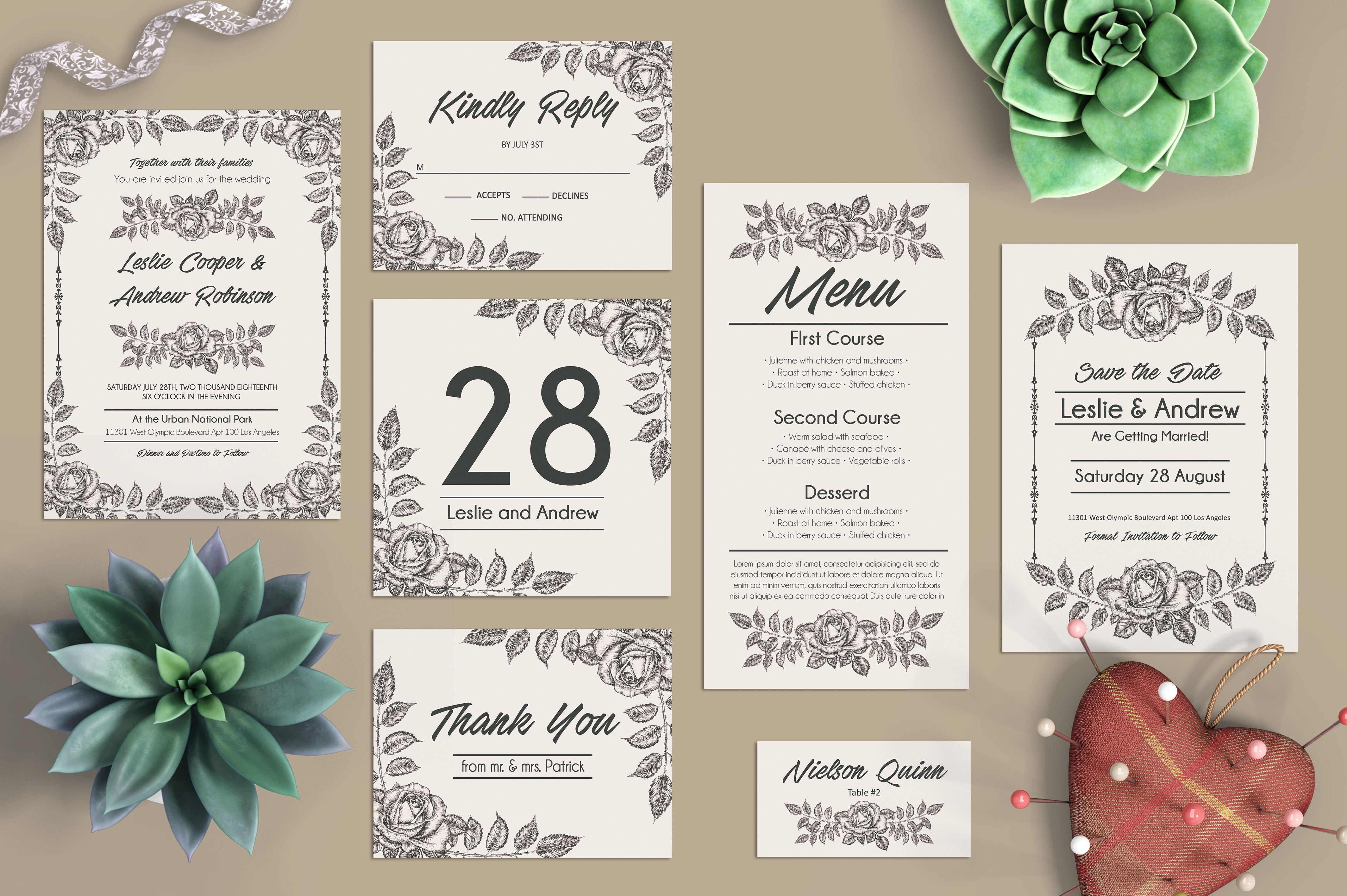 Free Wedding Psd Package Templates With Sepia Roses We Have Created An Free Wedding Invitation Templates Free Wedding Invitations Wedding Invitation Templates