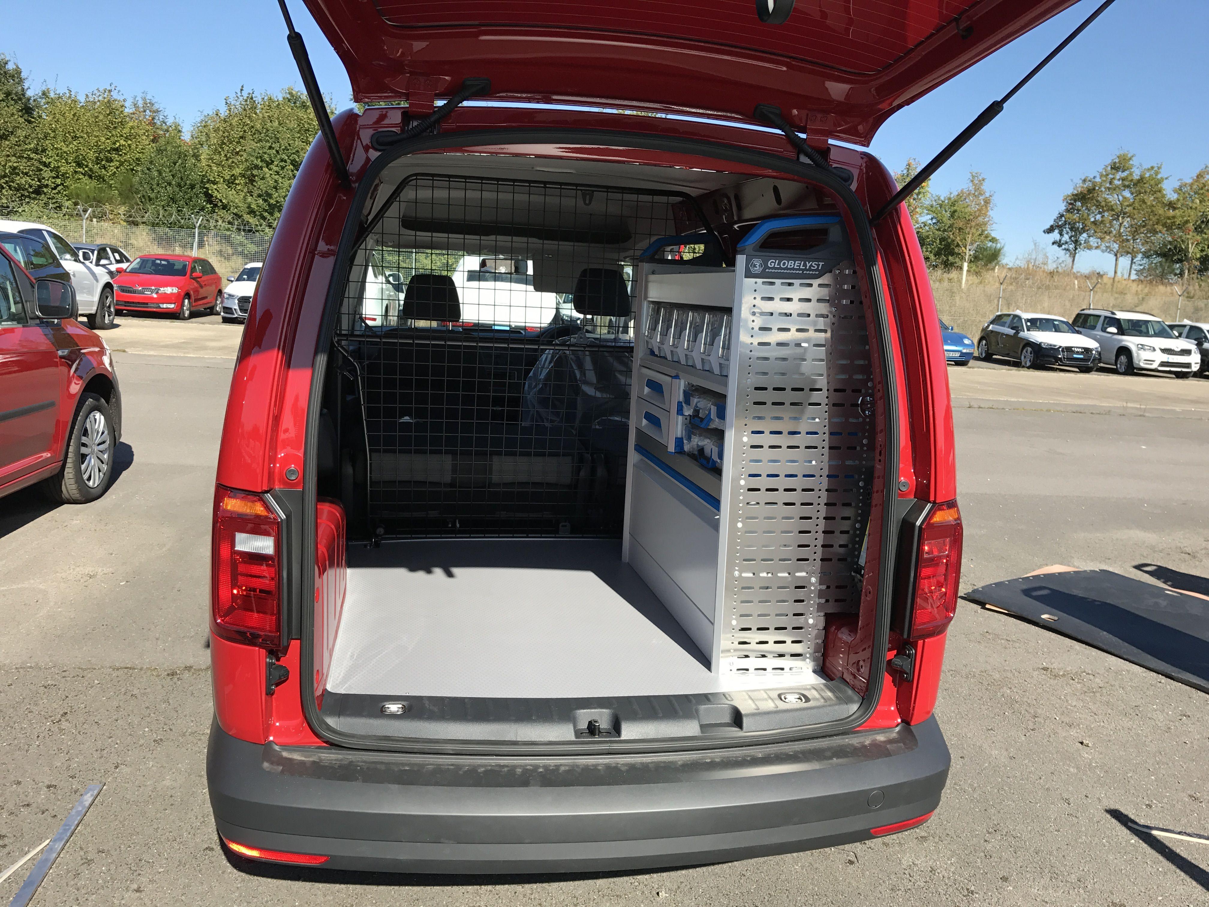 vw caddy sortimo racking auto ausbau ausbau und autos. Black Bedroom Furniture Sets. Home Design Ideas