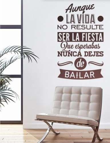 Vinilo decorativo frases cocina empapelado pared for Vinilo decorativo madera