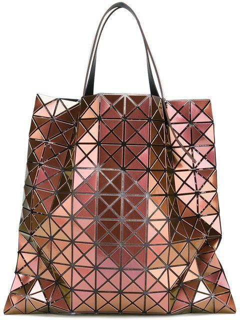d37203577b BAO BAO ISSEY MIYAKE metallic geometric shopping bag.  baobaoisseymiyake   bags  polyester  metallic