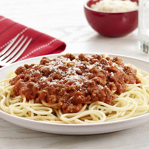 Spaghetti And Meat Sauce Recipe Ready Set Eat Recipes Spaghetti Meat Sauce