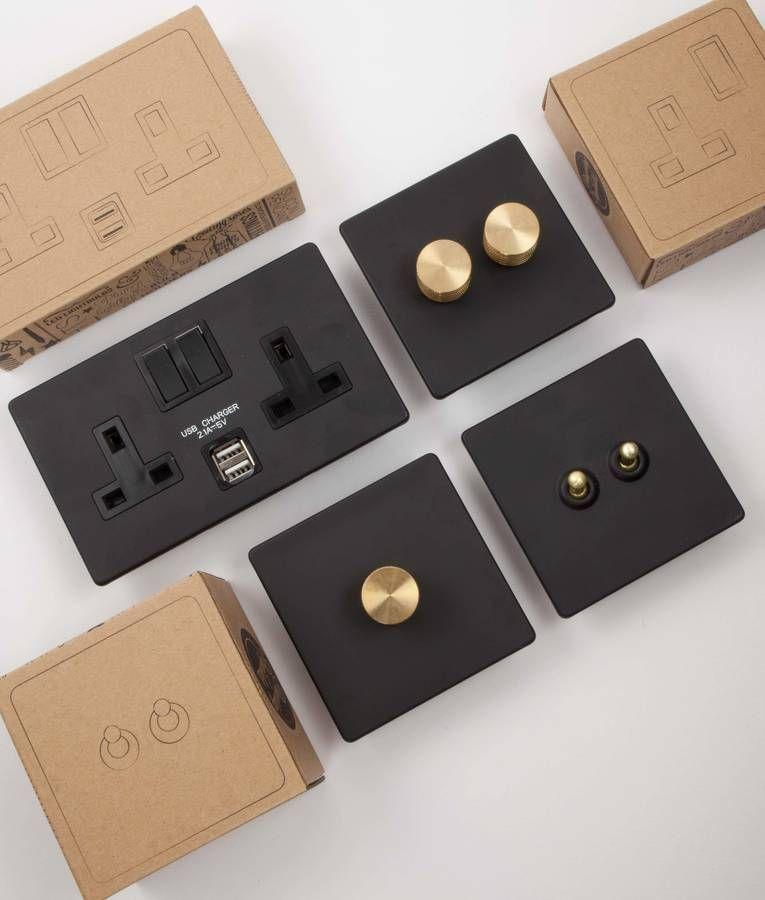 Designer Light Switches And Plug Sockets