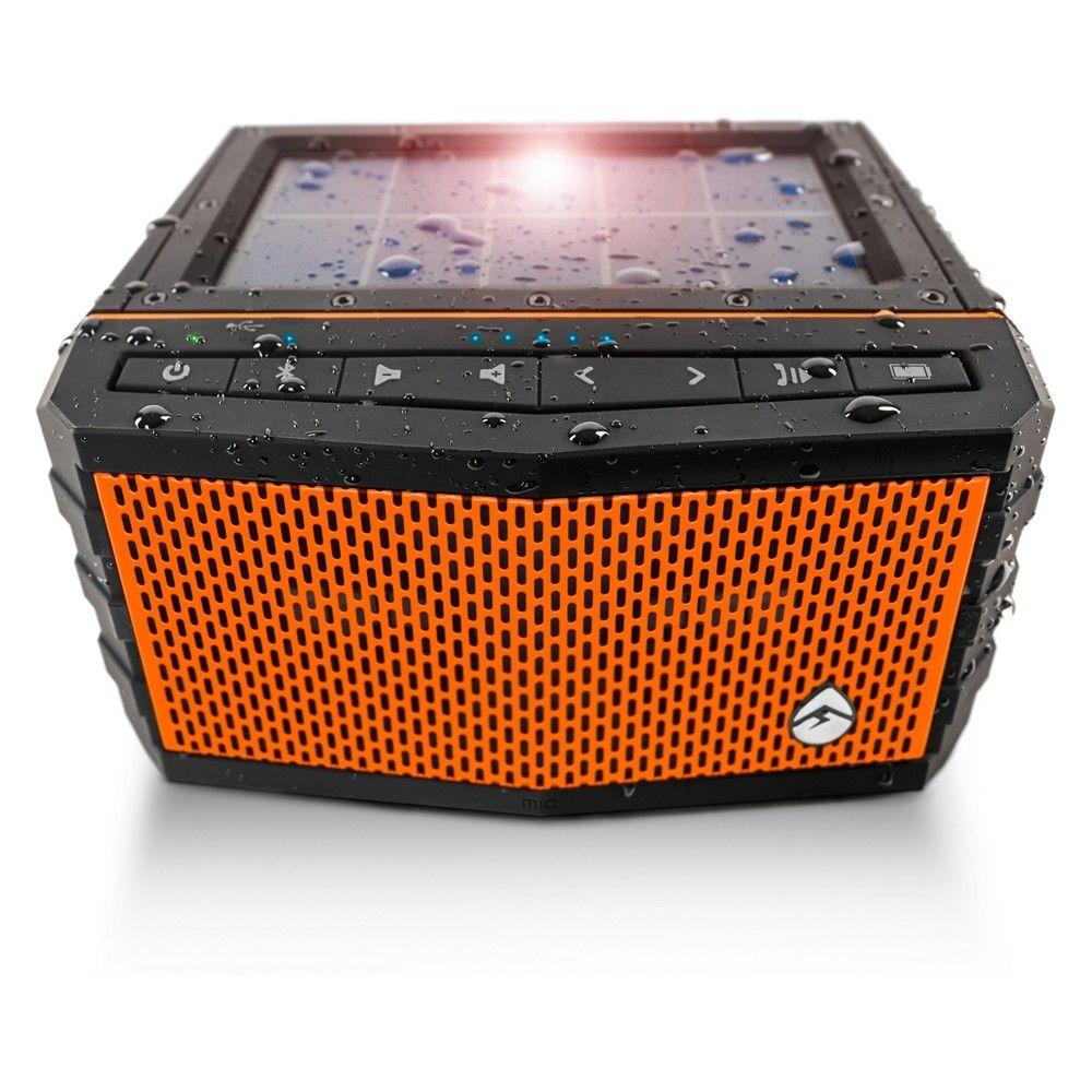 Ecoxgear Sol Jam Solar-powered Waterproof Speaker orange