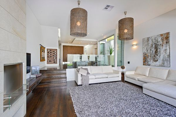 split level remodel the short sets of stairs rarely influence the overall interior design - Split Level Interior Design