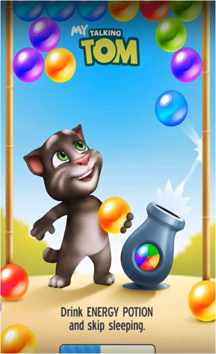 تحميل لعبة القط المتكلم توم Talking Tom Cat للموبايل مجانا