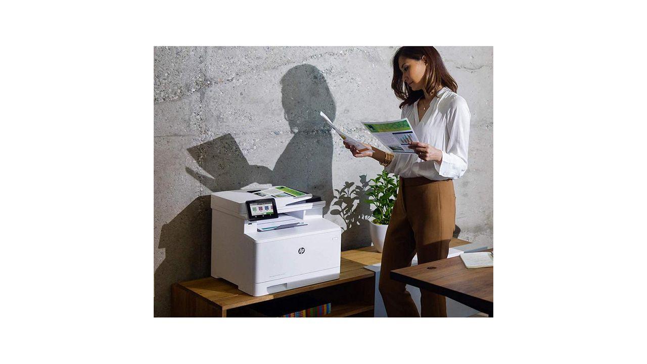 Hp Color Laserjet Pro M479fdn Impresora Multifuncion Para La Oficina Impresora Dispositivos De Almacenamiento H P