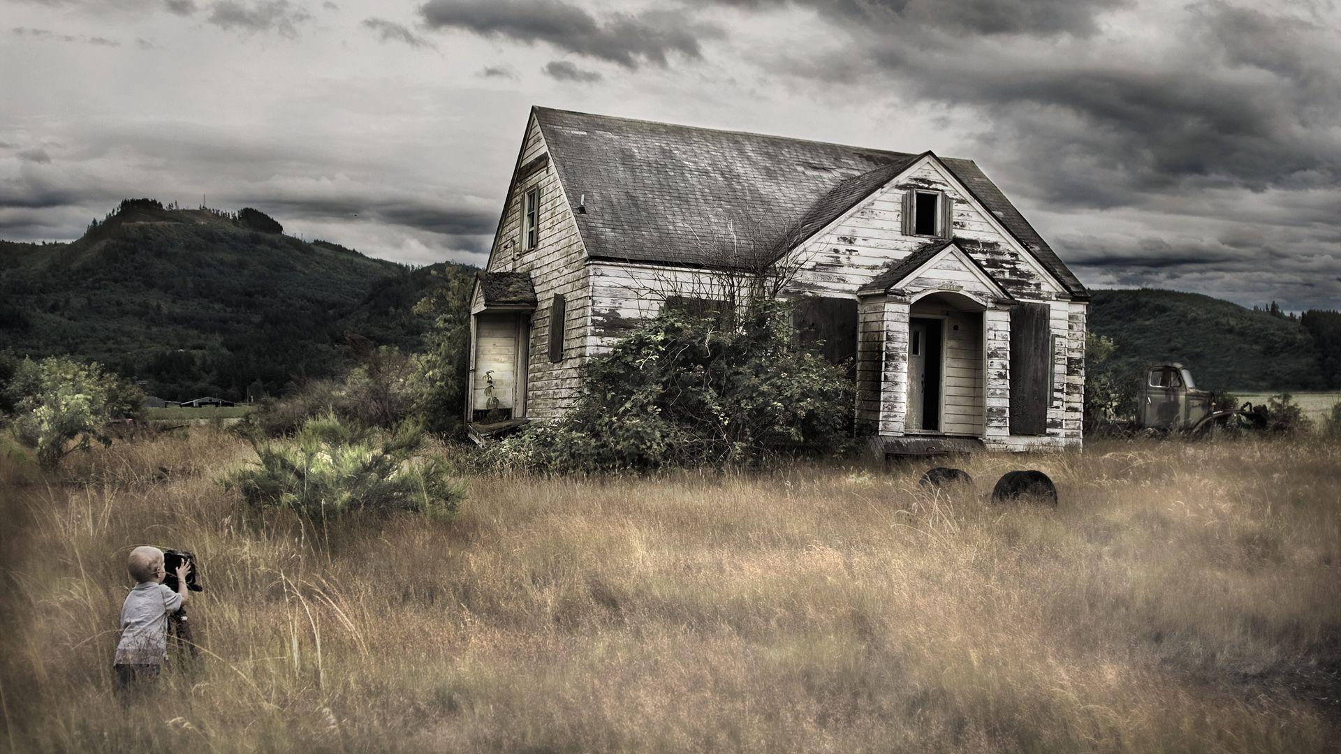 Image result for a deserted hut