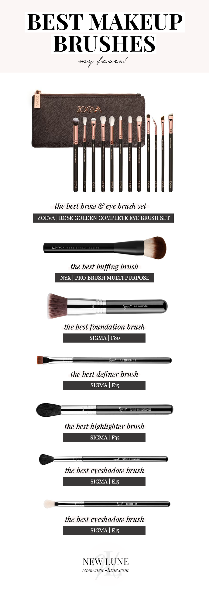 Best Makeup Brushes The best affordable makeup brushes