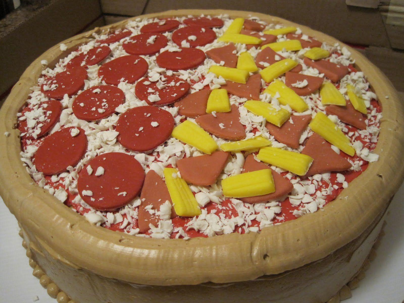 после пицца торт рецепт с фото выводить