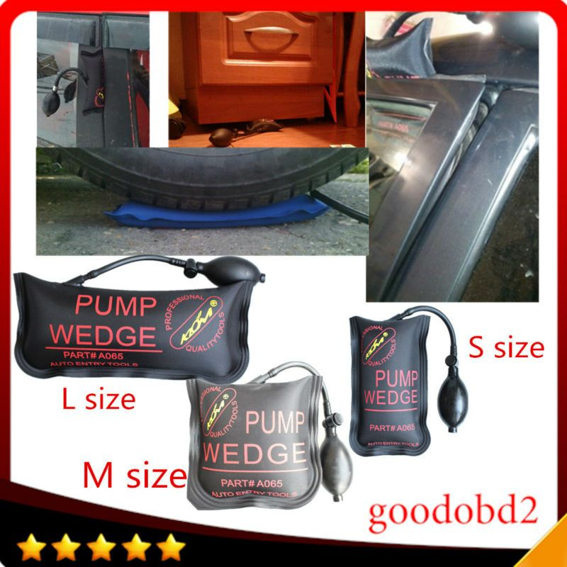 3pcs/lot Heavy 100KG klom PUMP WEDGE LOCKSMITH TOOLS Auto