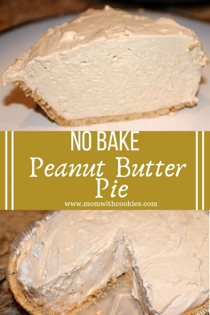 No Bake Peanut Butter Pie is part of Peanut butter pie recipes - This creamy and delicious peanut butter pie is a decadent dessert for anyone who loves peanut butter