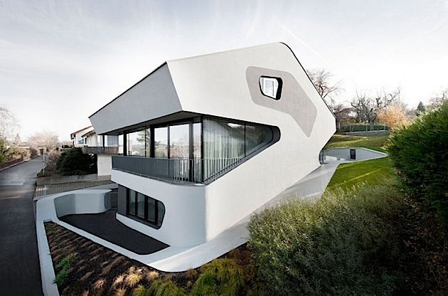 Architektur das futuristische weave house von a cero klonblog architektur pinterest - Futuristische architektur ...