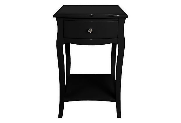 Bright Ideas Small Side Table Black Three Hands Corp