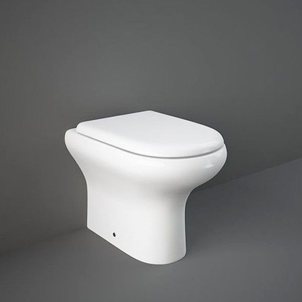 Superb Rak Compact Back To Wall Toilet Pan Inc Toilet Seat Lloyd Unemploymentrelief Wooden Chair Designs For Living Room Unemploymentrelieforg