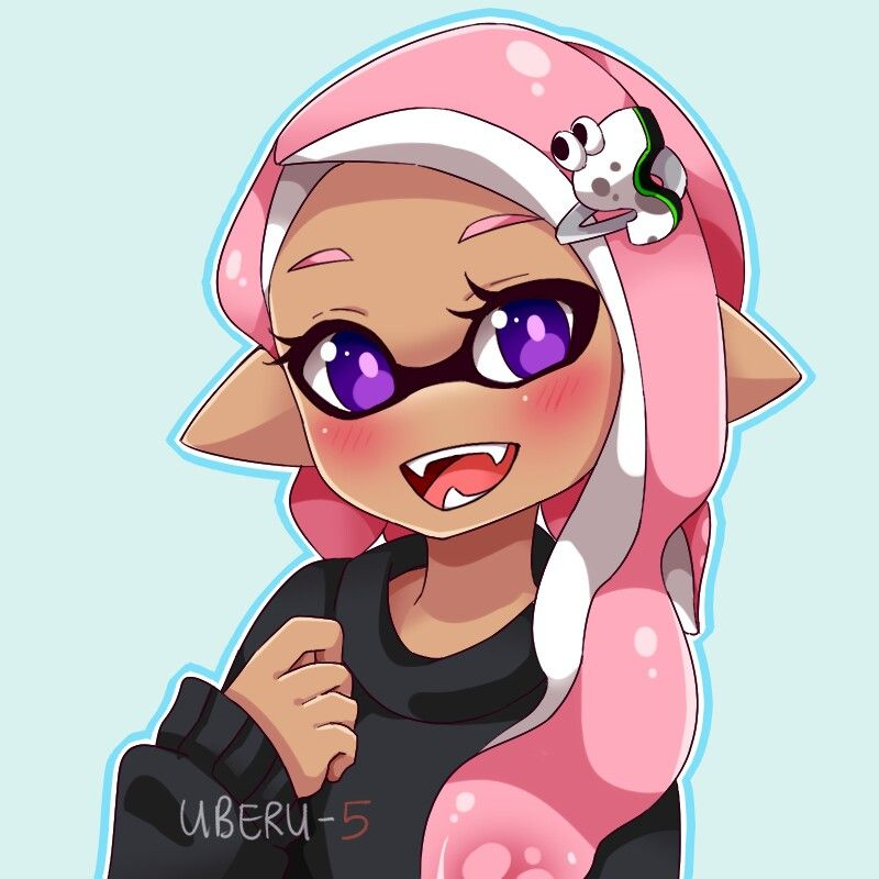 Splatoon 2 Inkling Girl Pink Splatoon Comics
