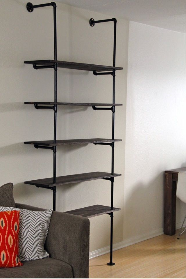 Bookshelves Brilliant Classic Metal Frame Large Bookshelf Plans