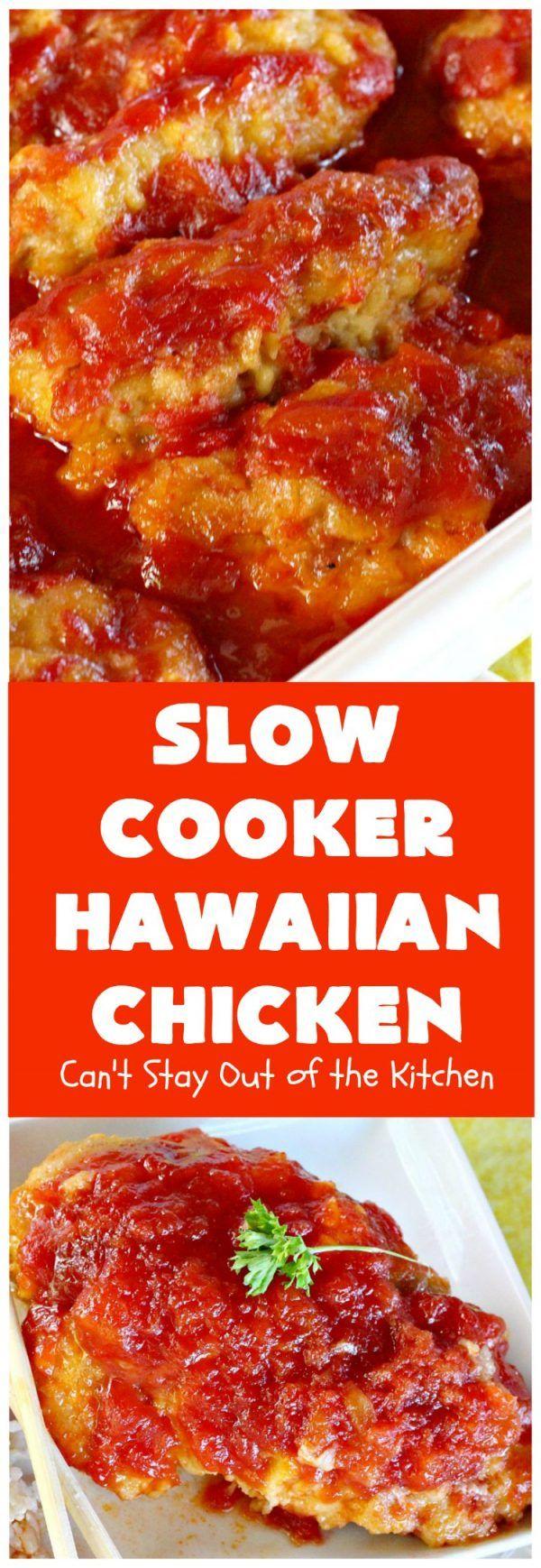 Slow Cooker Hawaiian Chicken images