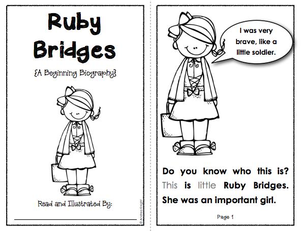 ruby bridges coloring pages - photo#10