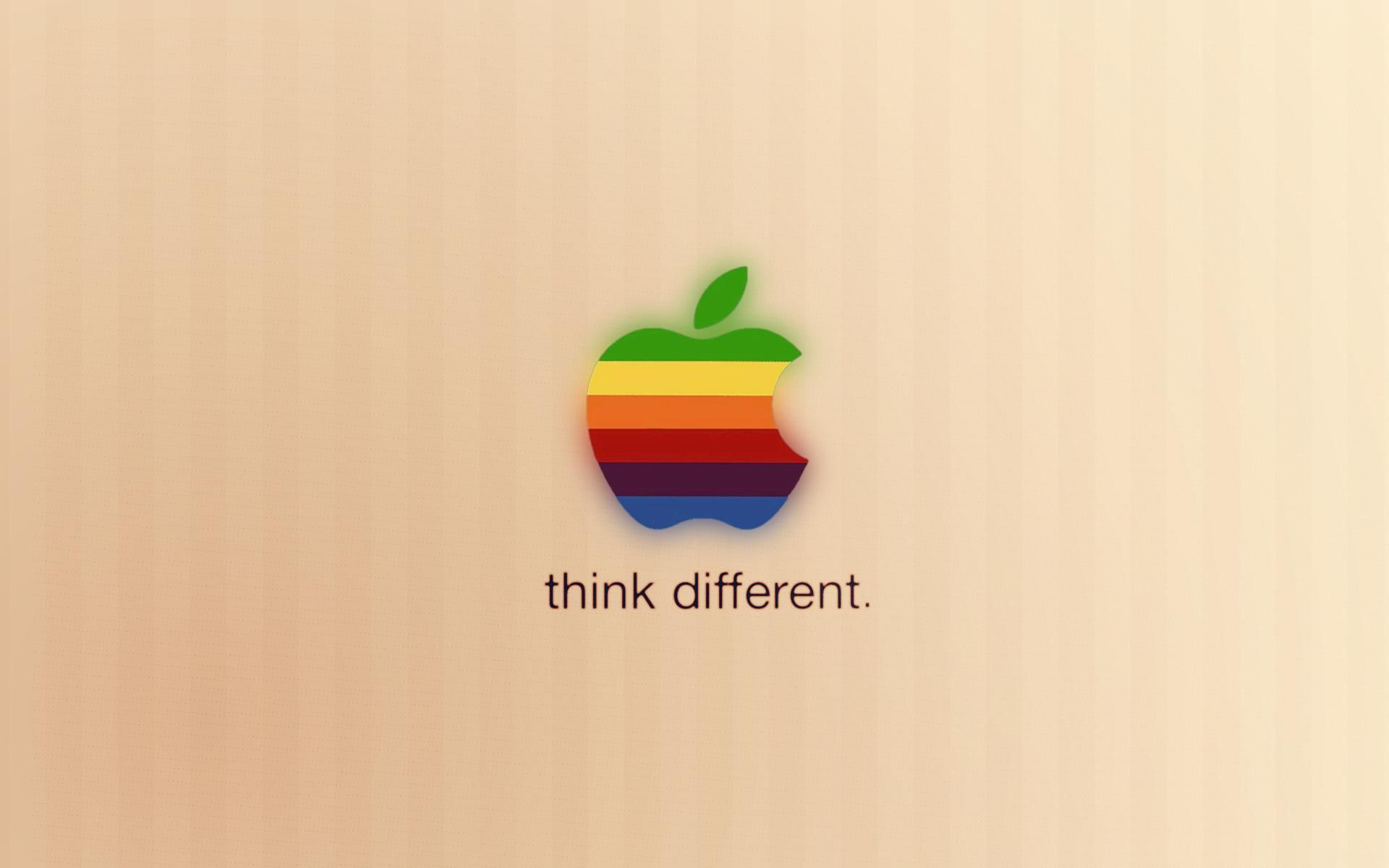 think different apple mac hd desktop wallpaper widescreen