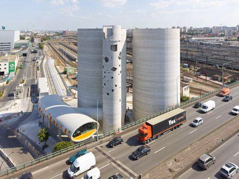 VI.B Architecture creates concrete silos for Parisian cement company