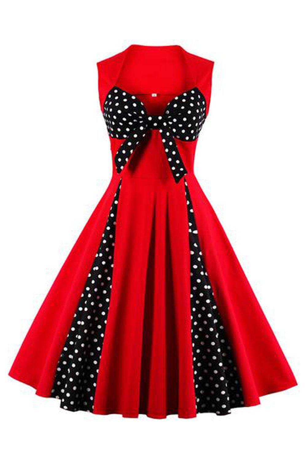 Adorable and feminine in our Atomic Red and Black Rockabilly ...