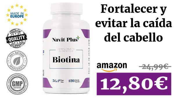 Biotina 10000mcg Vitaminas De Biotina Para Fortalecer Y Evitar La