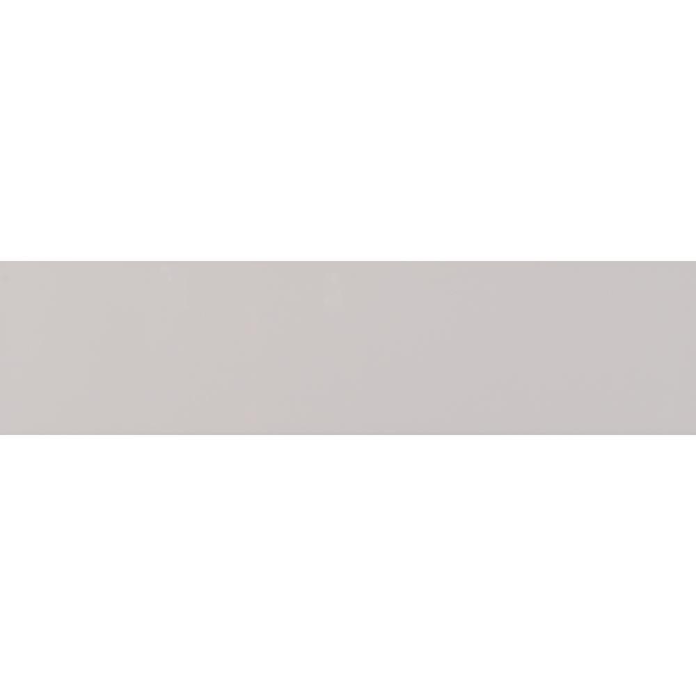 Msi Gray Glossy 4 In X 16 In Glossy Ceramic Wall Tile