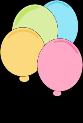 Pastel Balloons Clip Art Pastel Balloons Image Pastel Balloons Happy Birthday Clip Art Balloon Illustration