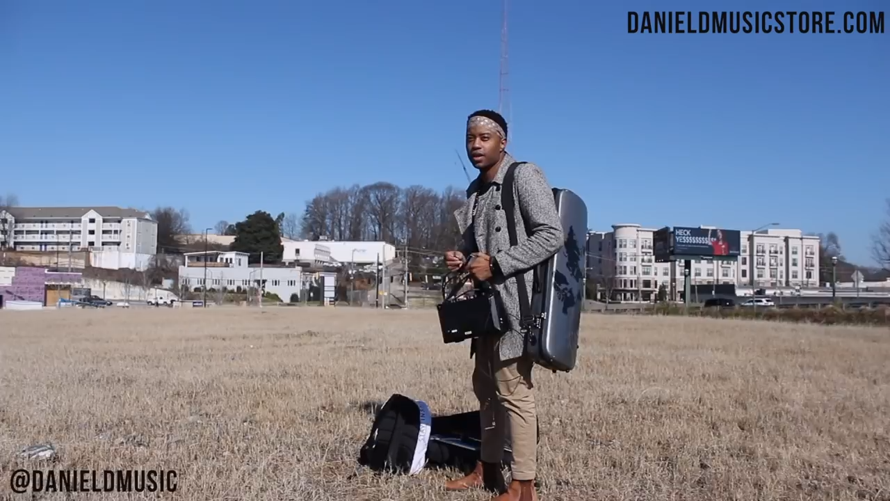 I covered one of my favorite songs in Atlanta, GA. #EllaMai #Trip #Cover #Violin #MusicTattoo Become A Member of DanielDMusicStore.com NOW!
